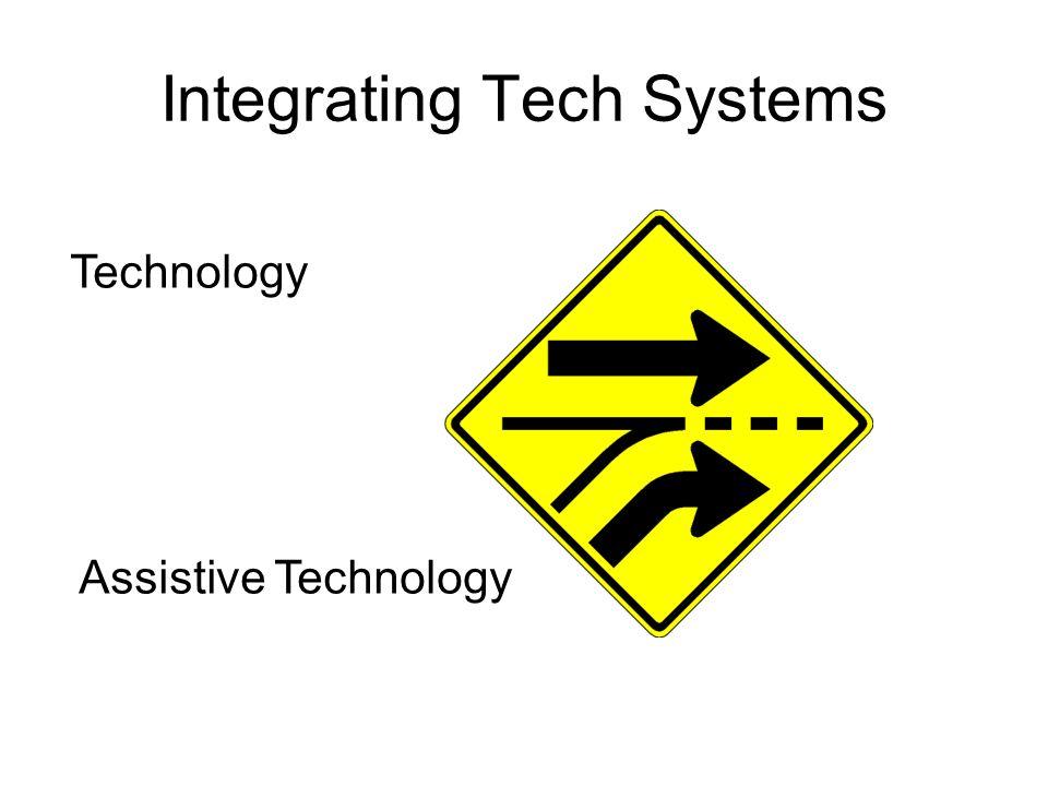 Integrating Tech Systems Technology Assistive Technology
