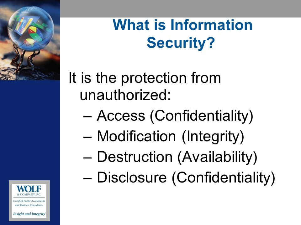 Why is Information Security Important.
