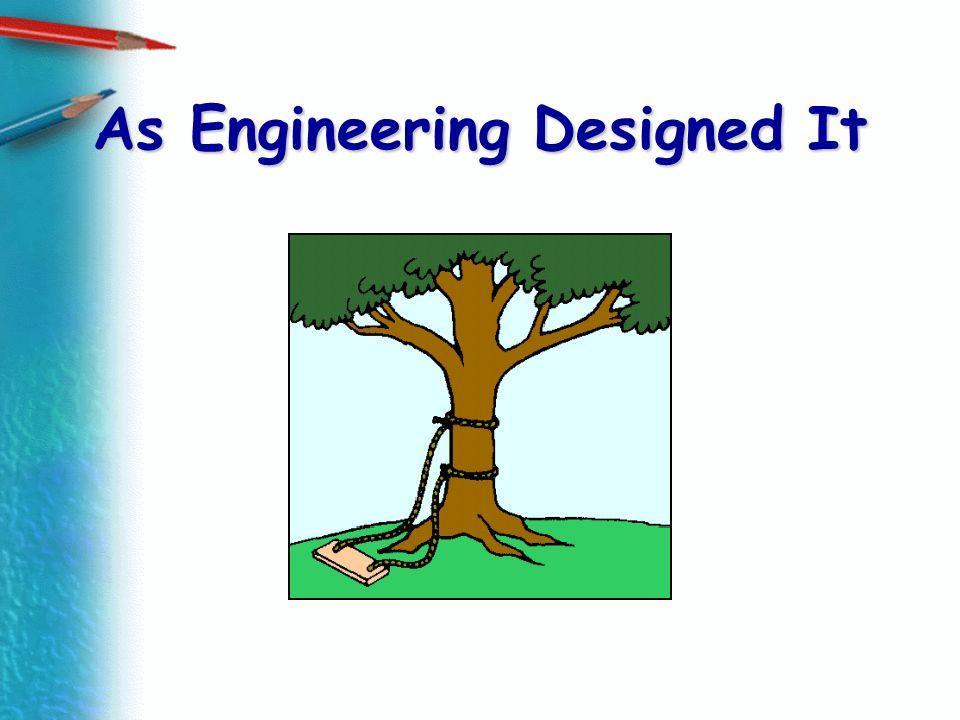 As Engineering Designed It