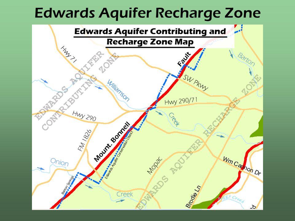 Edwards Aquifer Recharge Zone
