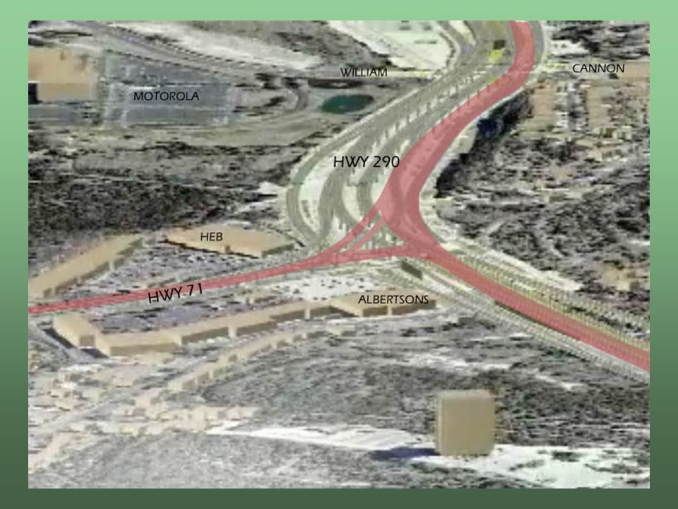 Fix290 proposes 85% less impervious cover than TxDOT TxDOTs Biologic Assessment stormwater pollution calculations show an underestimate of 45% in calculating existing impervious cover, and stormwater quality treatment volume is under designed by another 45% Total pollutant loading may be as much as 80% underestimated Responsible Use of Resources