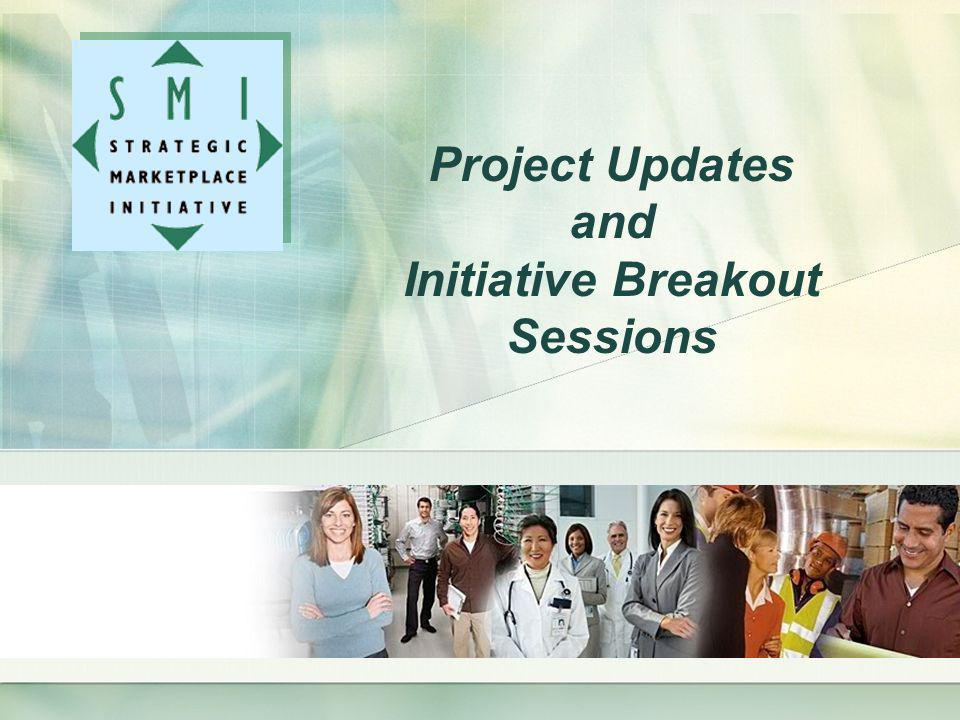 Project Updates and Initiative Breakout Sessions