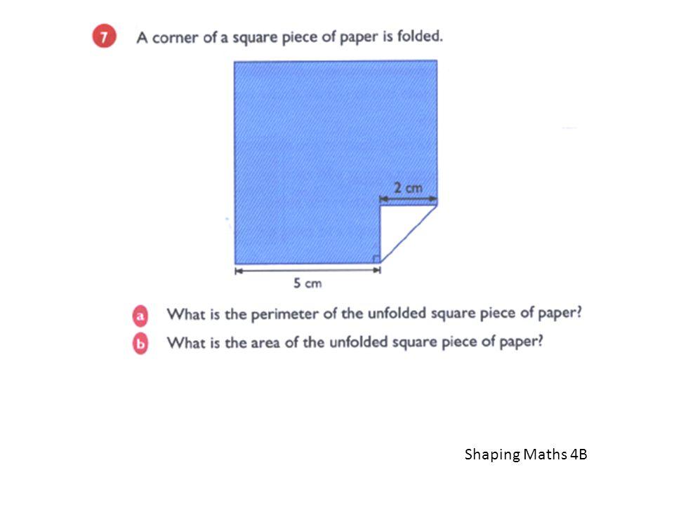 Shaping Maths 4B