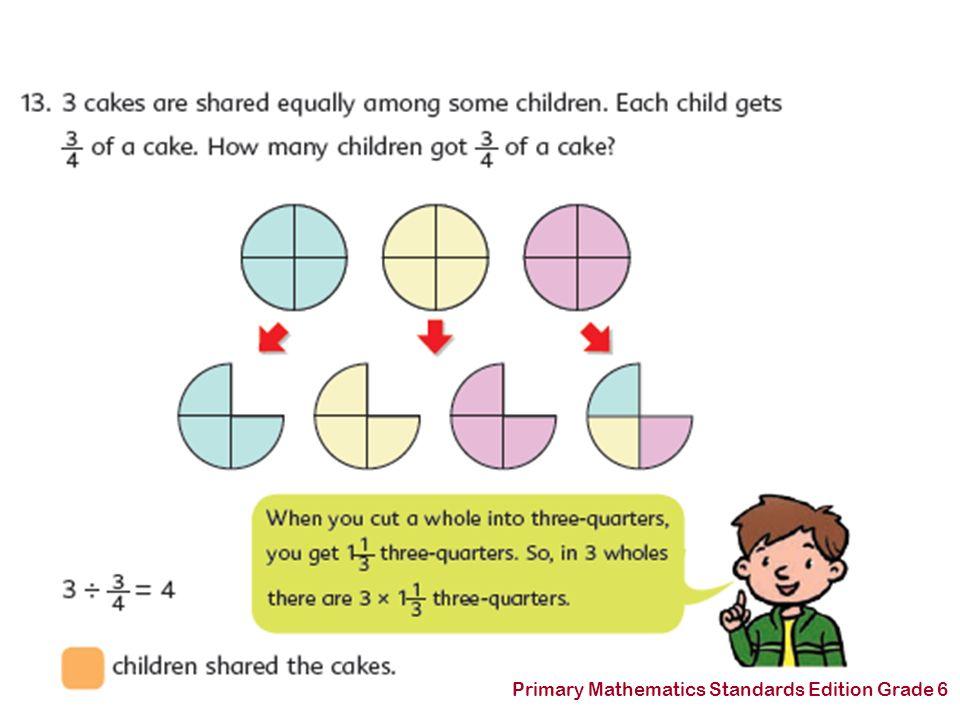 Primary Mathematics Standards Edition Grade 6