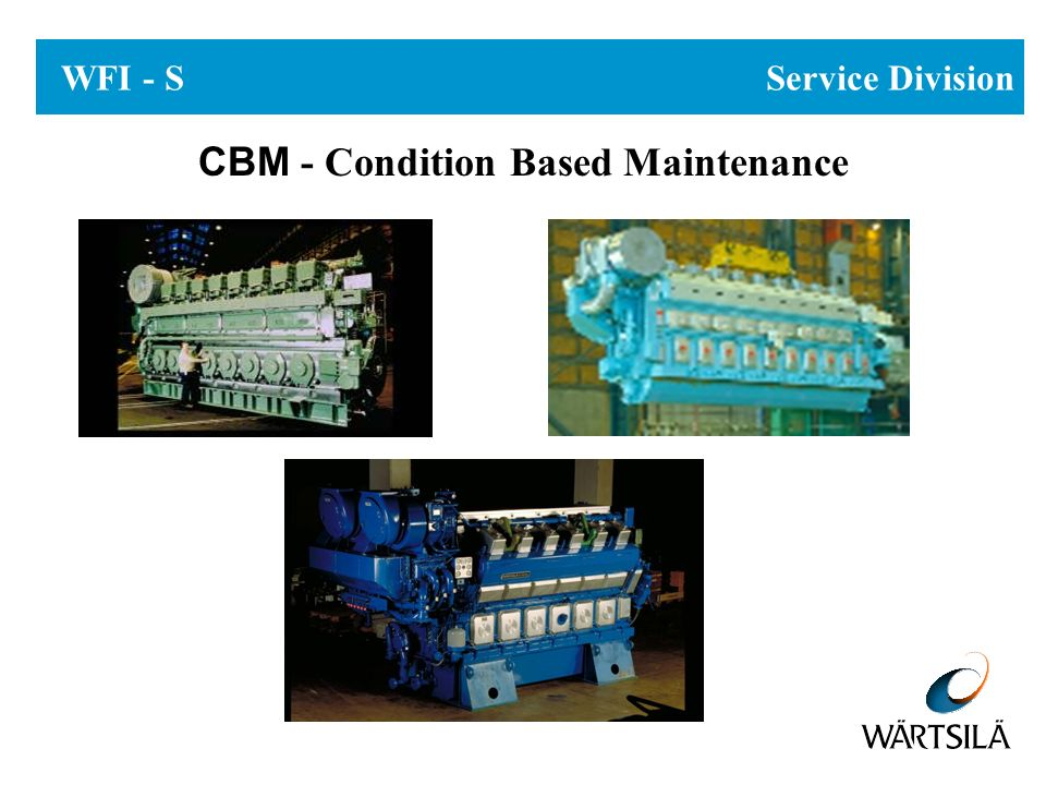 WFI - S Service Division CBM - Condition Based Maintenance