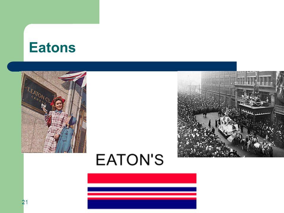Eatons 21