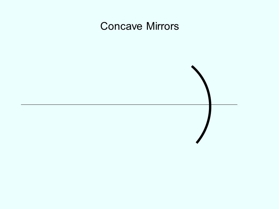 Given: A concave mirror forms an image, on a wall 3 m from the mirror, of a filament of a headlight lamp 10 cm in front of the mirror.