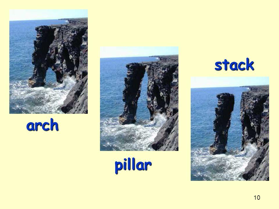 10 arch pillar stack