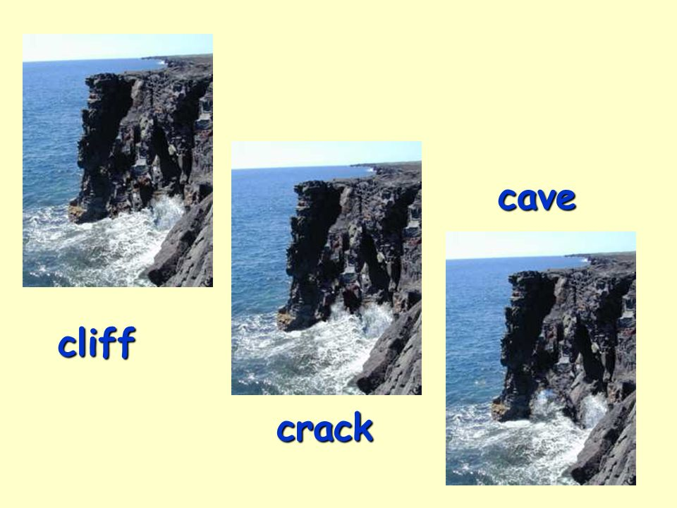 9 cliff crack cave