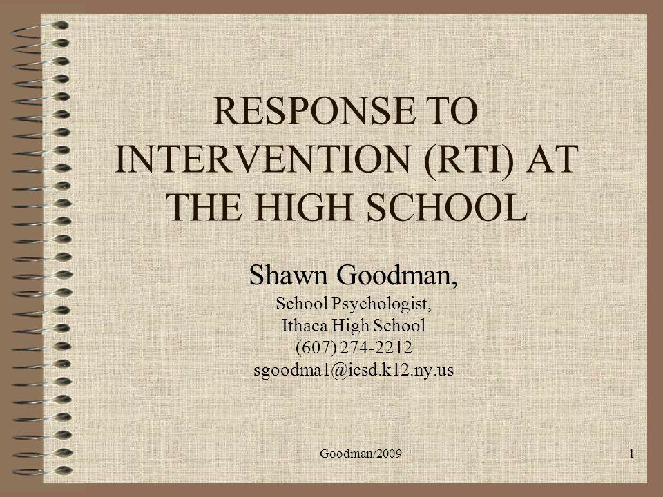Goodman/200932 J.R. – Extended Analysis