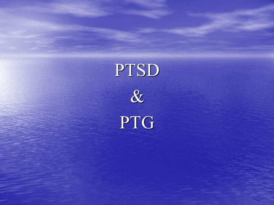 PTSD&PTG