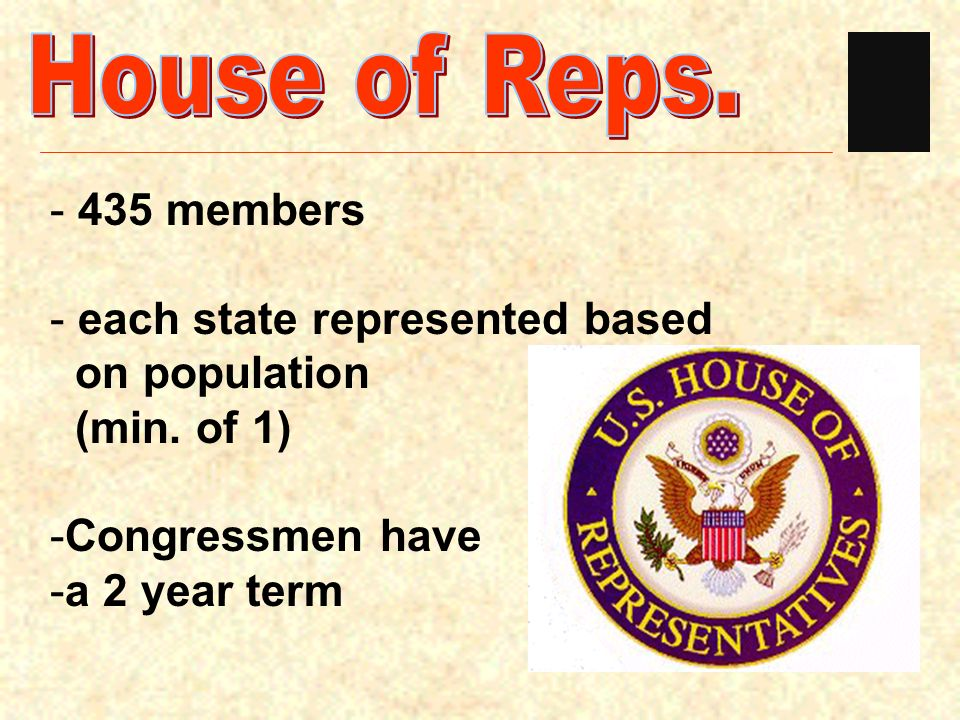 U.S. Congress is a bicameral legislature legislature consisting of 2 houses House of Representatives & the U.S. Senate