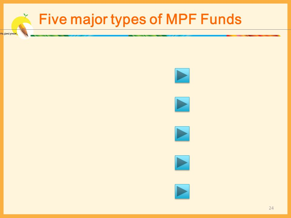 Five major types of MPF Funds 24