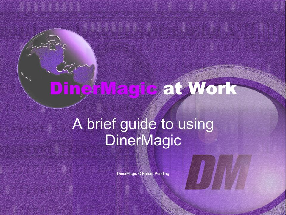 DinerMagic at Work Besides editing prices and descriptions, you have the ability to move items on the menu, or remove an item altogether.