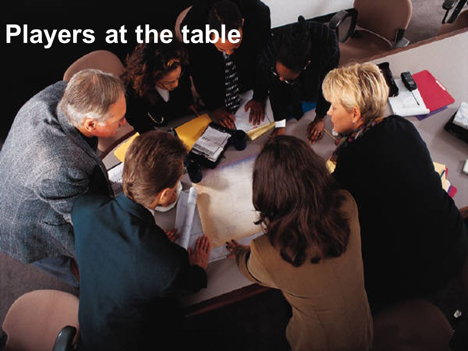 Players at the table