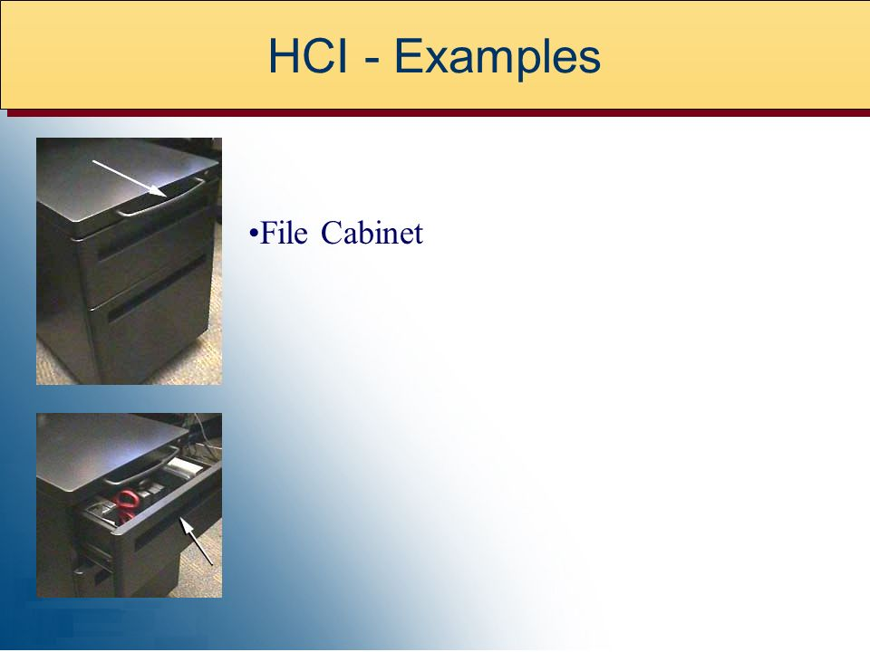 File Cabinet HCI - Examples