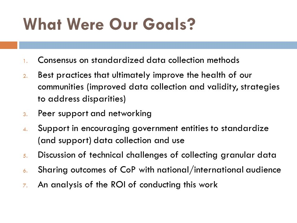 CoP Topics/Speakers Erin Bowman, California Health Care Safety Net Institute and Its REAL Data Efforts Dr.