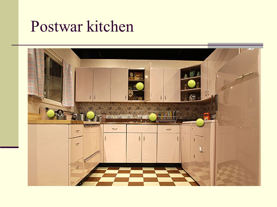 Postwar kitchen