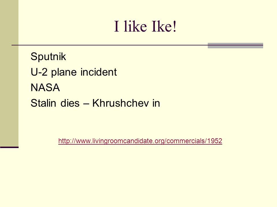 I like Ike.