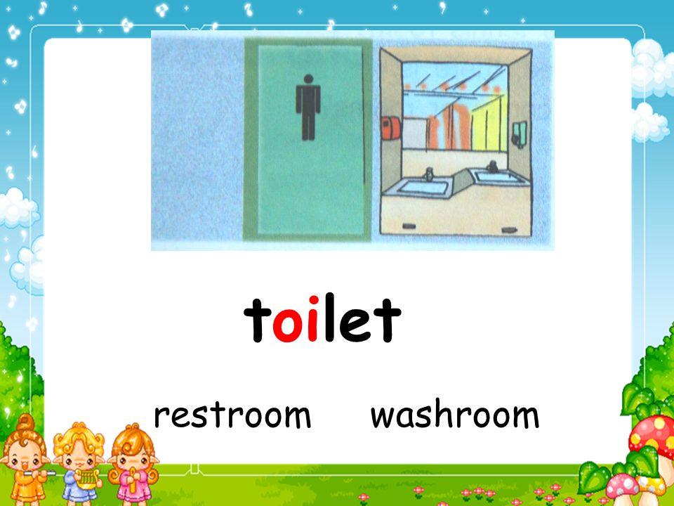 toilet restroom washroom