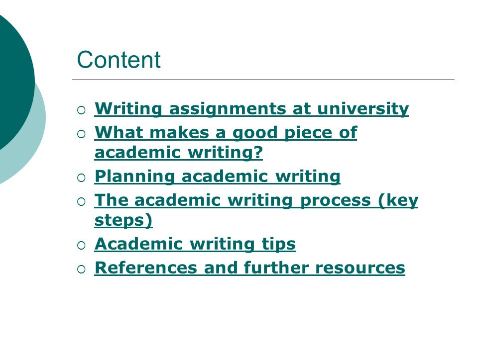 how to write assignment for university Daniel fuller - mississippi state university writing/thinking project writing assignment framework and overview are the result of 1:3¶v third study,.