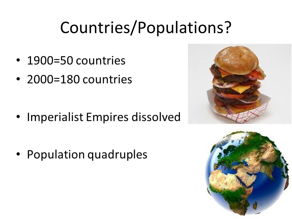Countries/Populations.