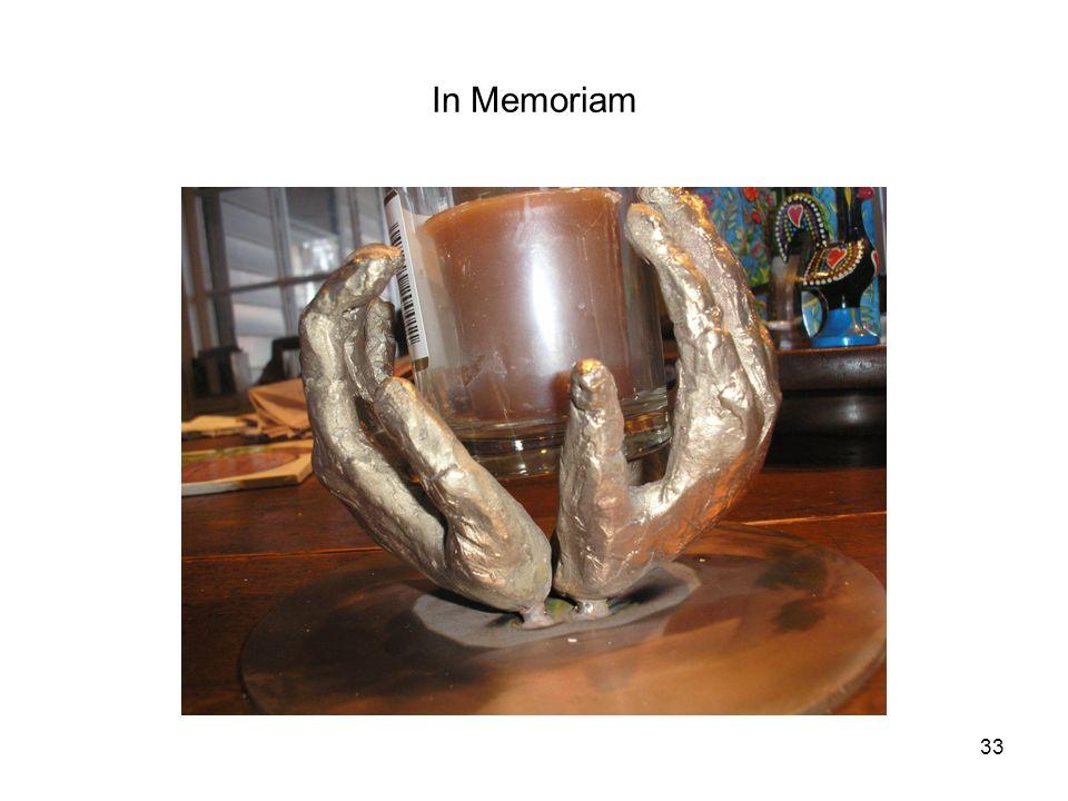 In Memoriam 33