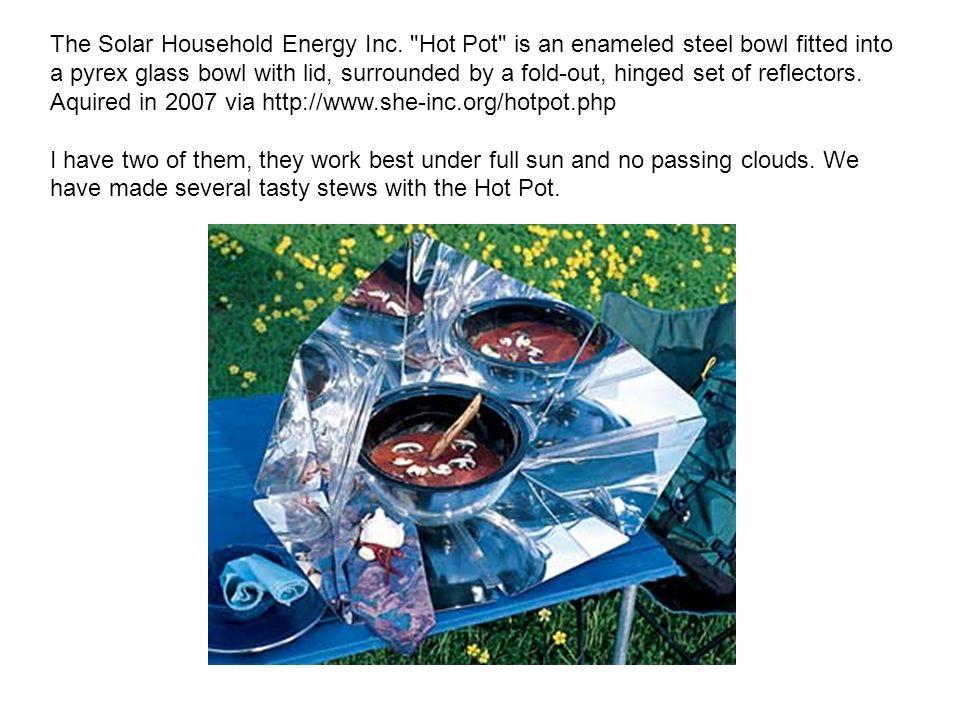 The Solar Household Energy Inc.