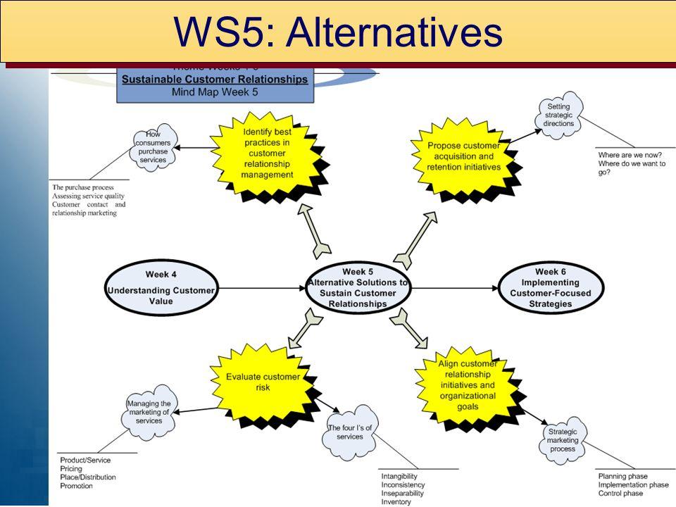 WS5: Alternatives