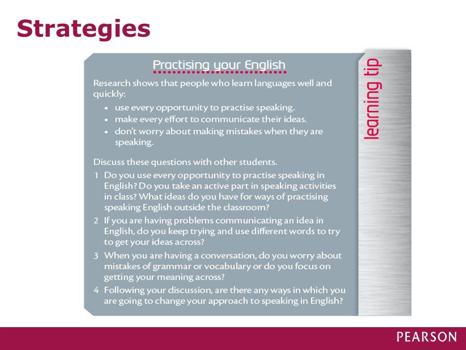 Strategies