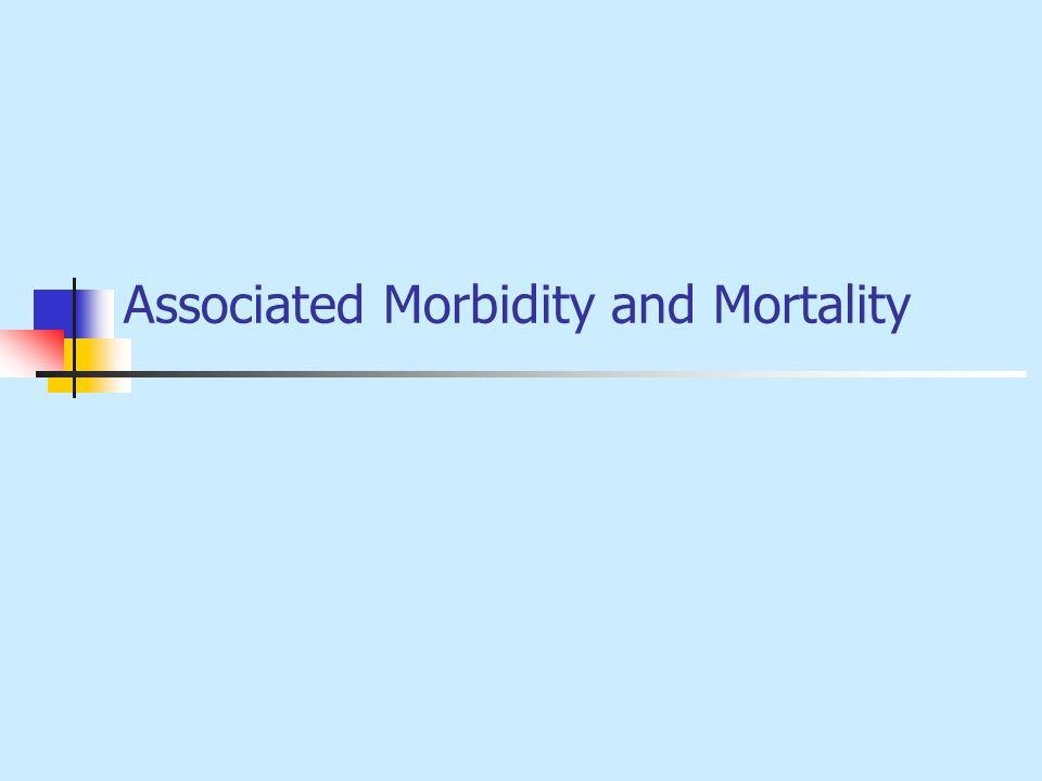 Associated Morbidity and Mortality