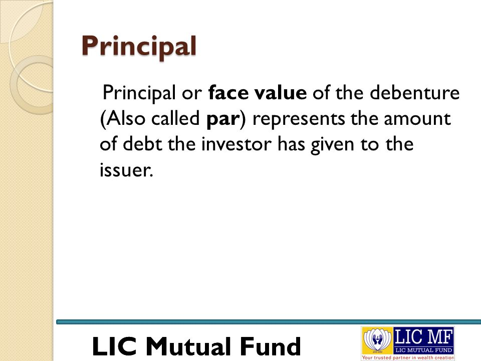 LIC Mutual Fund Money Market Mutual Fund Objective: Investing exclusively in money market instruments.