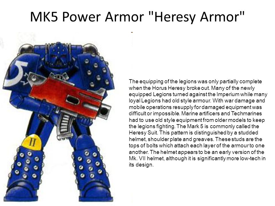 MK5 Power Armor