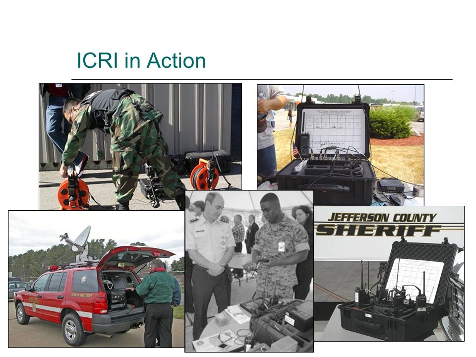 ICRI in Action
