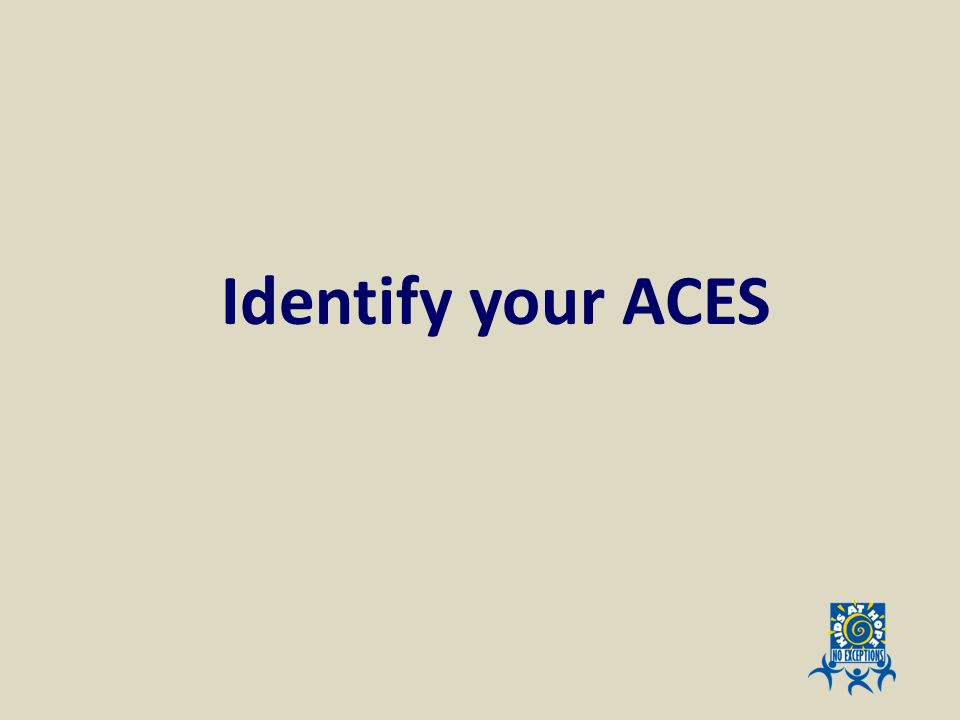 Identify your ACES