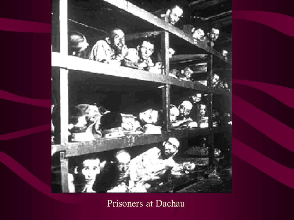 Prisoners at Dachau