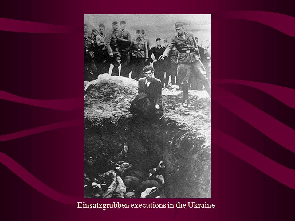 Einsatzgrubben executions in the Ukraine