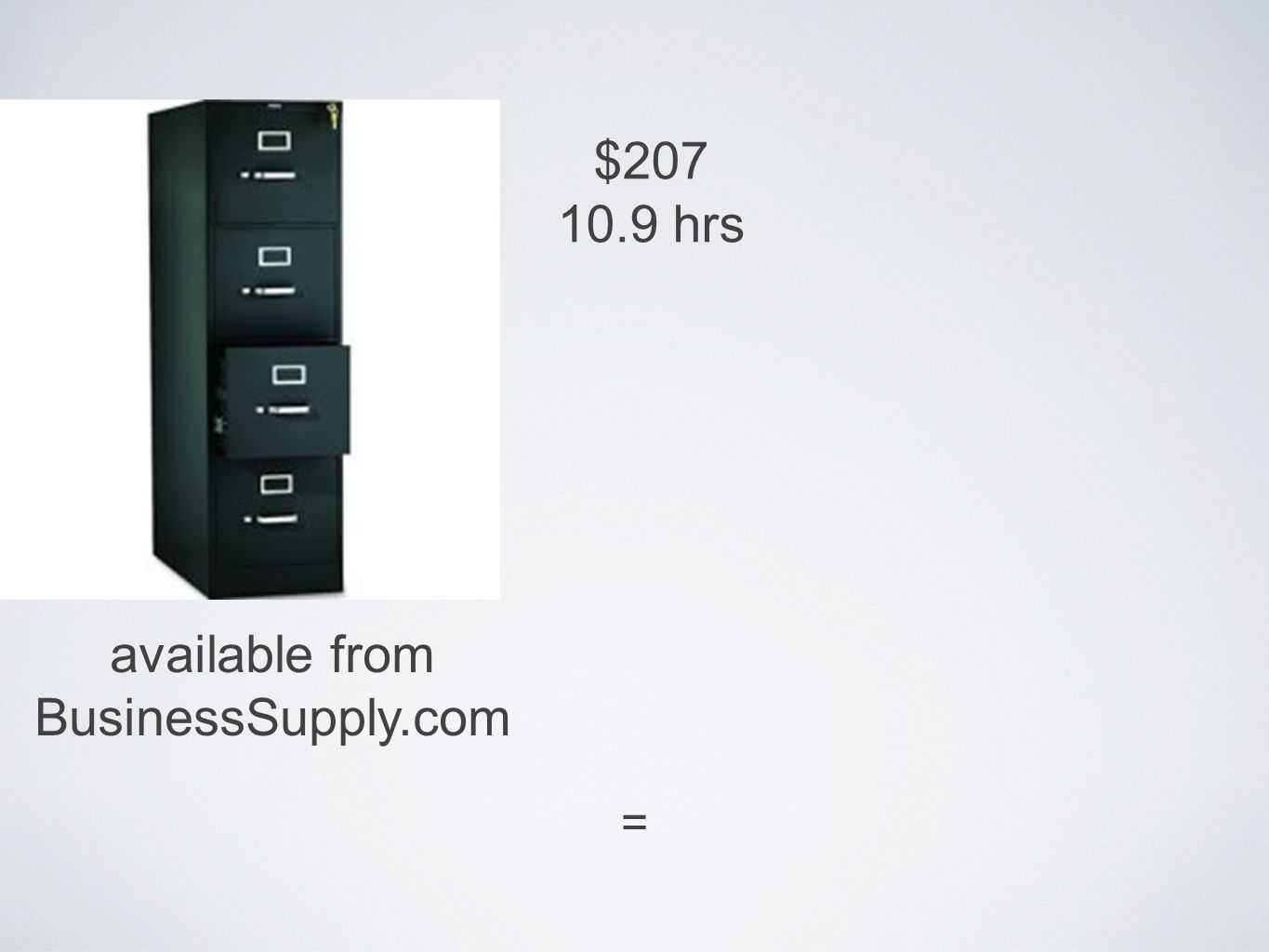 = $207 10.9 hrs available from BusinessSupply.com