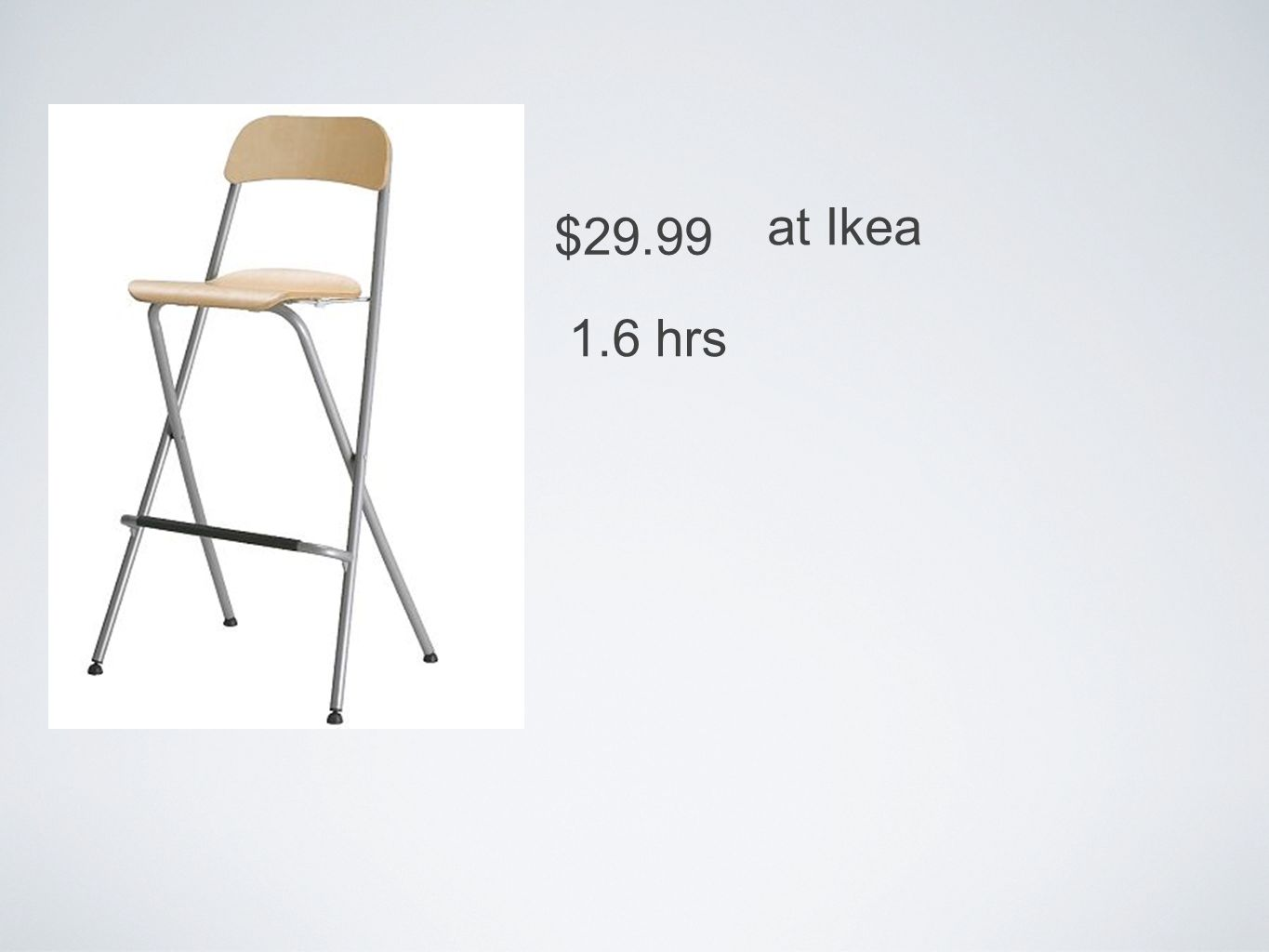 $29.99 at Ikea 1.6 hrs