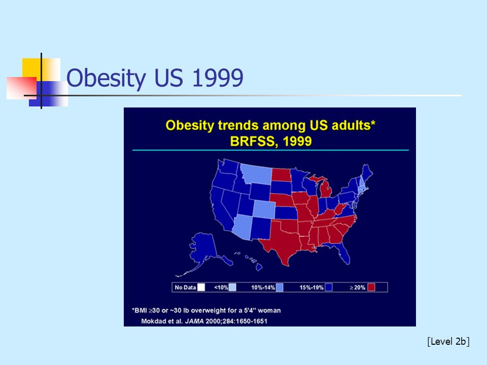 Obesity US 1999 [Level 2b]
