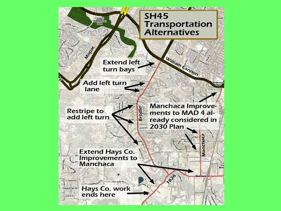 SH45 Trans Alternatives