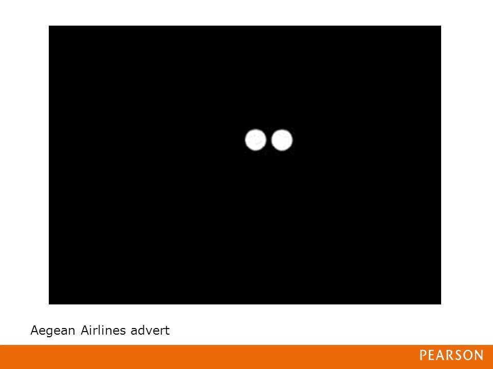Aegean Airlines advert