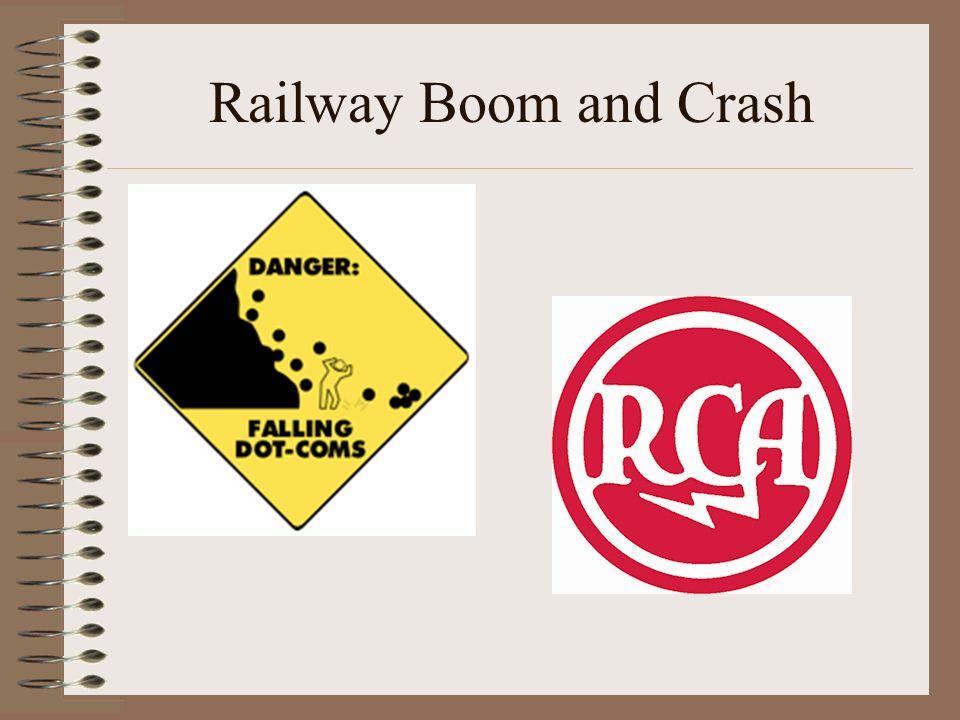 Railway Boom and Crash