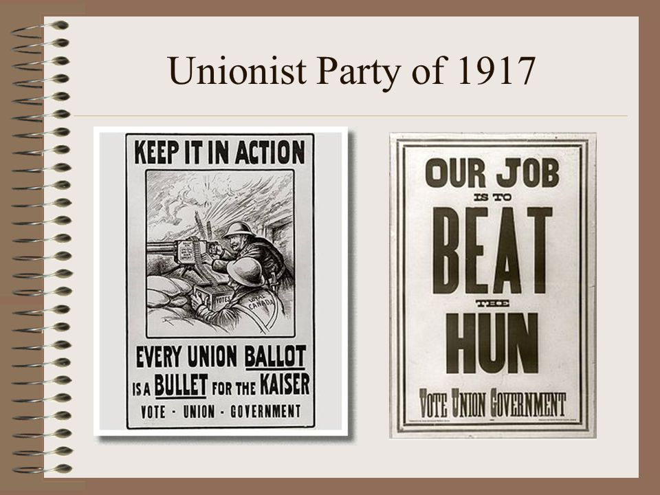 Unionist Party of 1917
