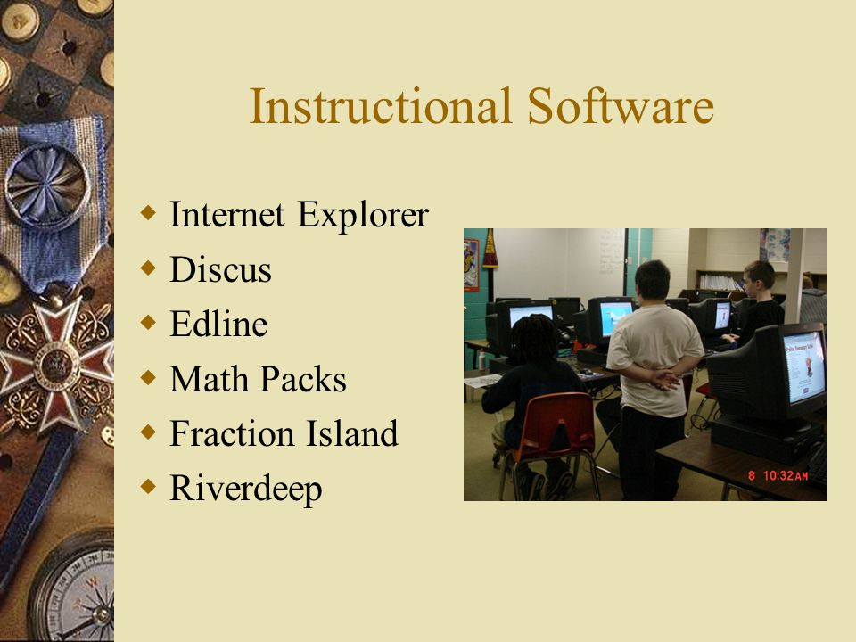 Instructional Software Internet Explorer Discus Edline Math Packs Fraction Island Riverdeep