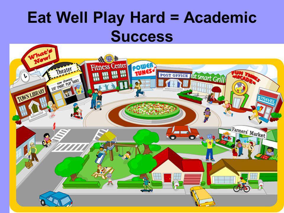 Eat Well Play Hard = Academic Success