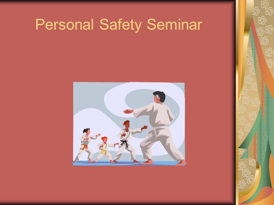 Personal Safety Seminar