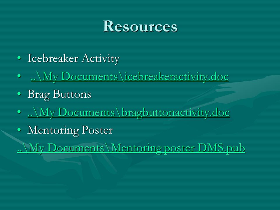 Resources Icebreaker ActivityIcebreaker Activity..\My Documents\icebreakeractivity.doc..\My Documents\icebreakeractivity.doc..\My Documents\icebreaker