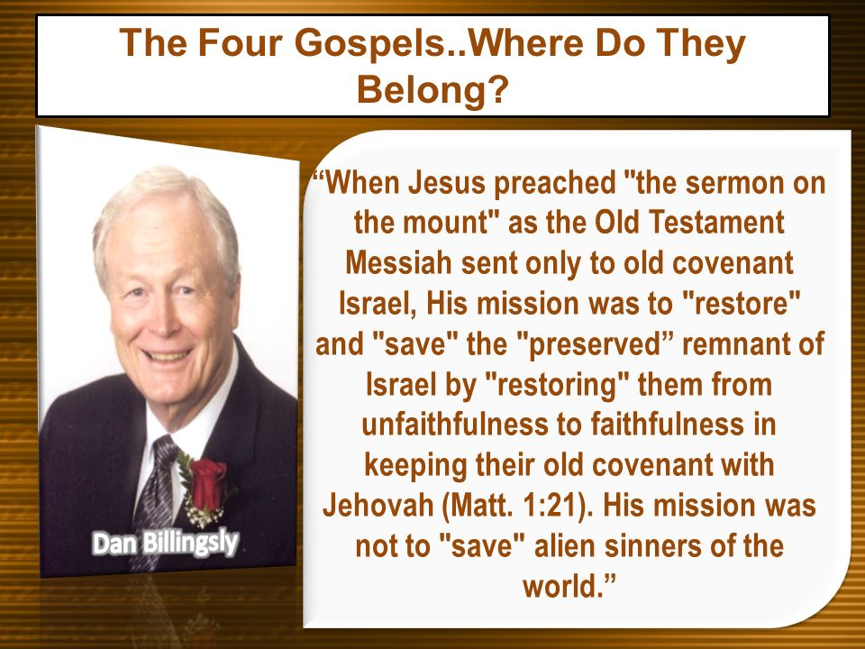 When Jesus preached
