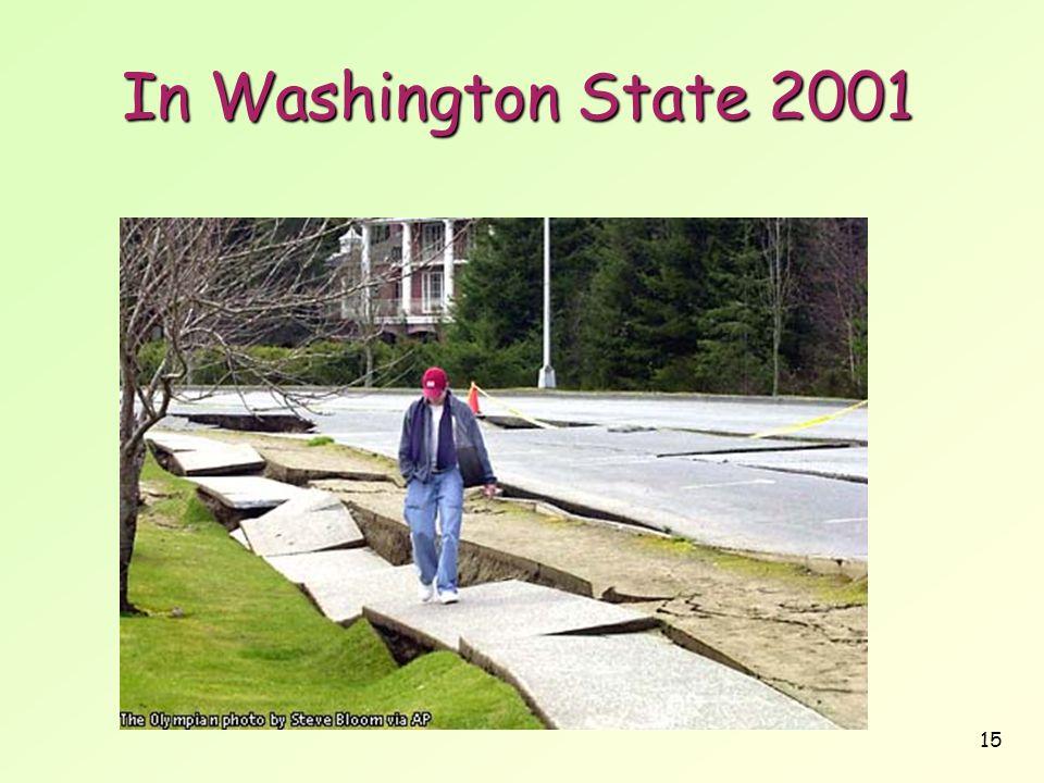 15 In Washington State 2001